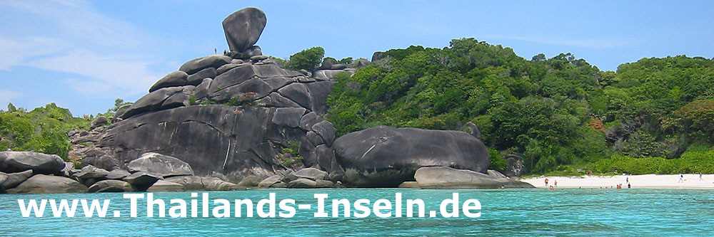Similan islands - Thailands-Inseln.de