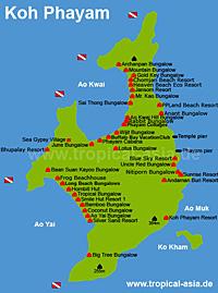 Koh Phayam Thailand 180 S Inseln Reiseinformationen Hotels Buchen